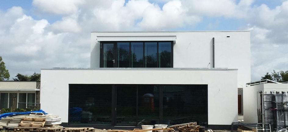 Modern villa op zelfbouw kavel in Erasmushove, Den Haag