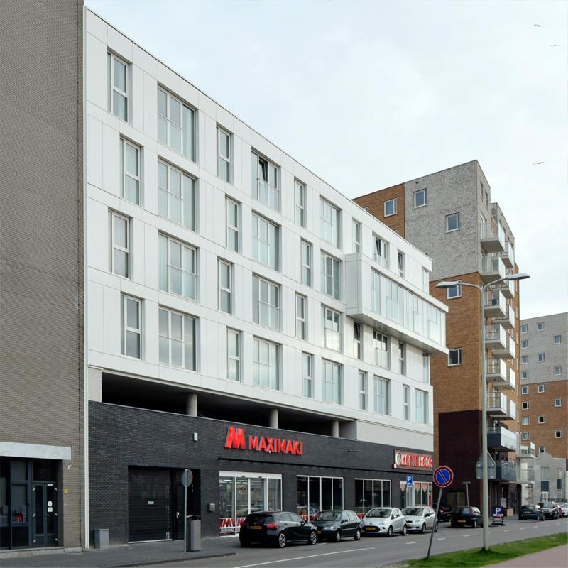 Appartementen Laakhaven West Waldorpstraat