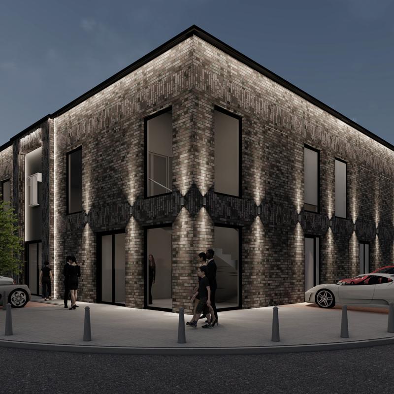 Architect Feestzaal Uitenhagestraat Den Haag