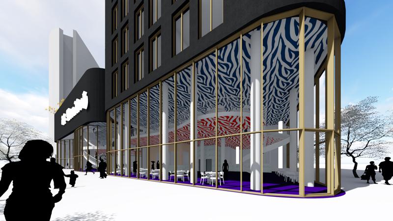 Stadspodium hotel Den Haag